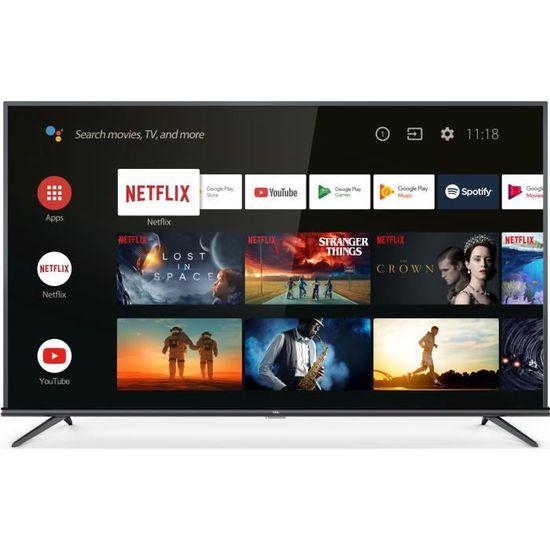 "TV 75"" TCL 75EP660 (4K UHD, HDR, LED, Android TV) - Saint-Berthevin (53)"