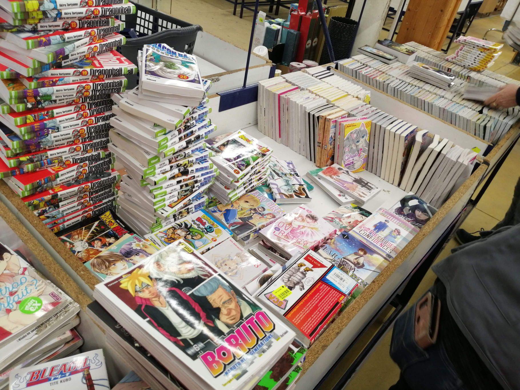 Sélection de mangas en promotion - Saint-Jean-d'Angély (17)