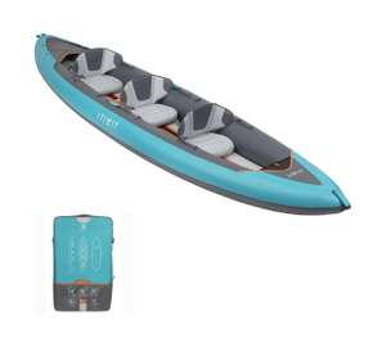 Kayak gonflable Itiwit Stitch x100 - 3 places (ou 2 places à 350€)
