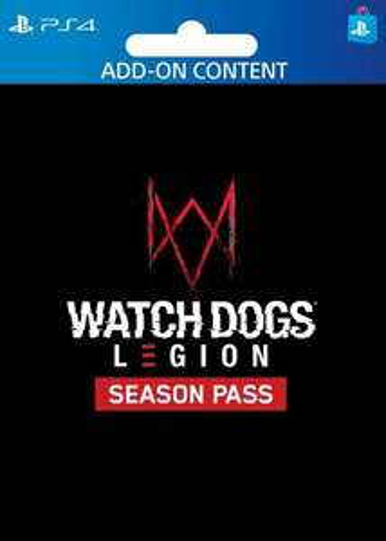 Watch Dogs: Legion - Seasons Pass sur PS4 + Watch Dogs 1 Definitive Edition inclus