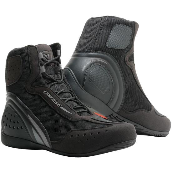 Baskets moto Dainese Motorshoe D1 Air Black - Tailles du 40 au 46