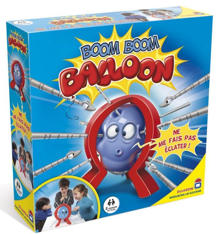1 jeu de société Dujardin acheté = 1 jeu offert après ODR (sur une sélection) - Ex : 2 boîtes de Boom Boom Balloon
