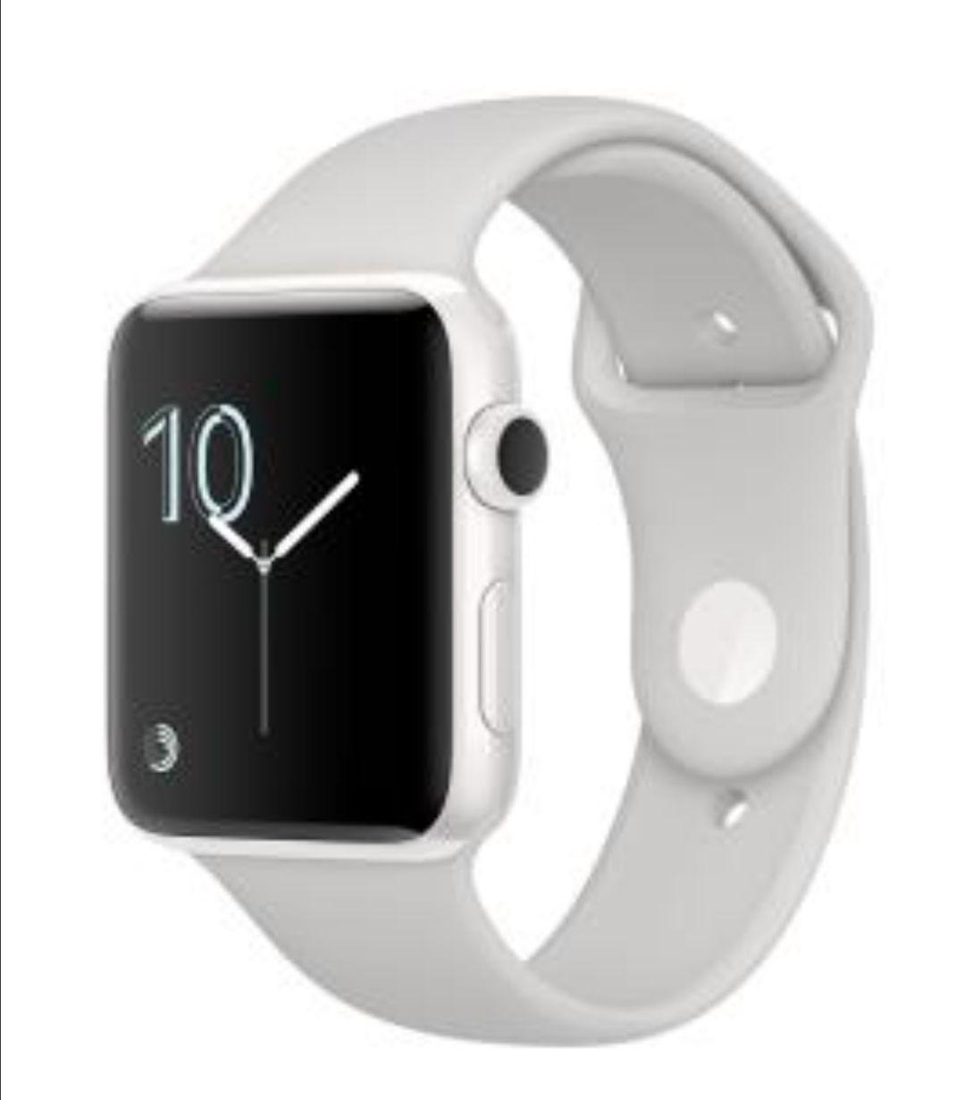 Montre connectée Apple Watch - 38mm, Boîtier en céramique blanc