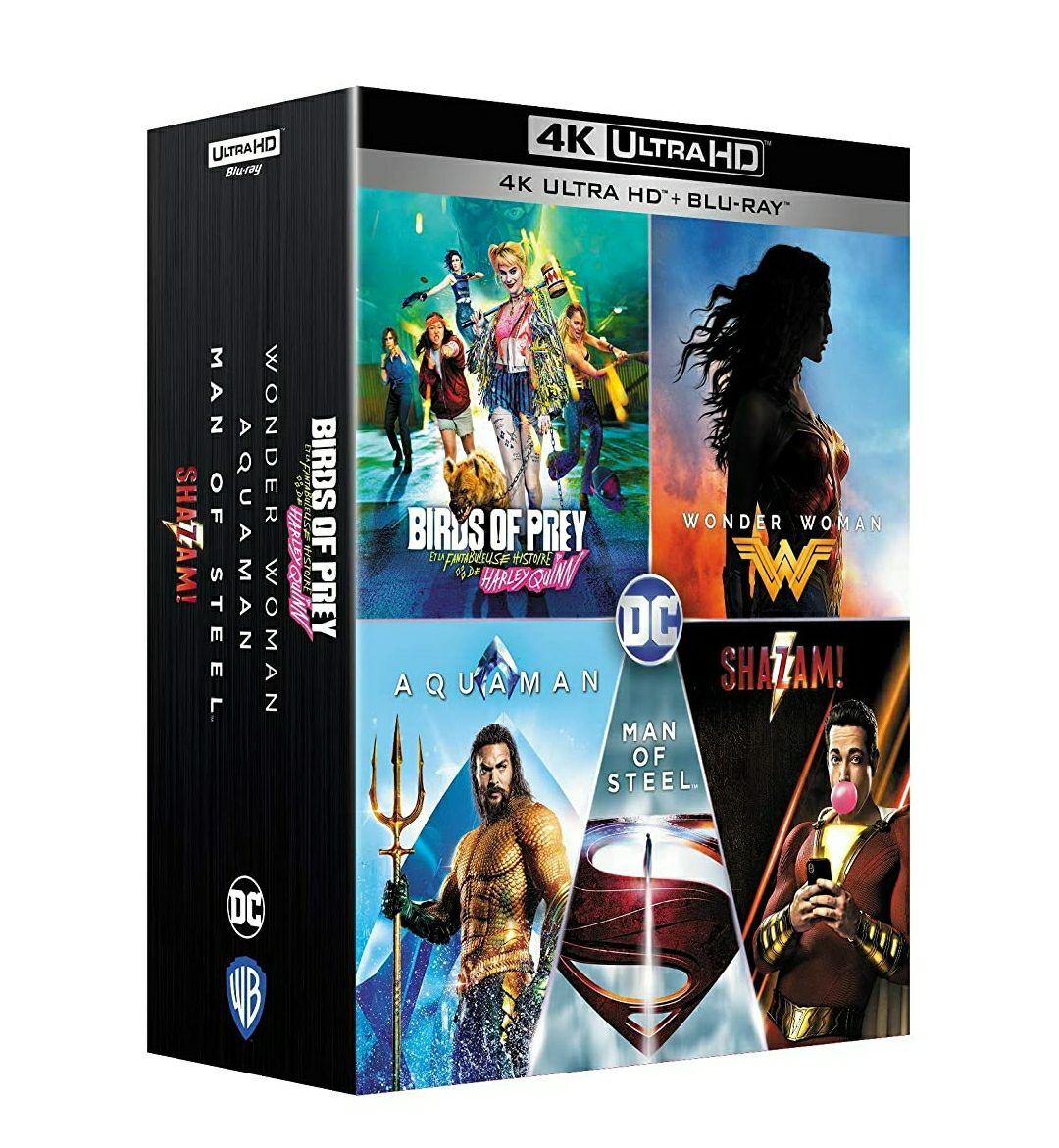 Coffret 4K + Blu-ray DC Universe - Collection 5 films