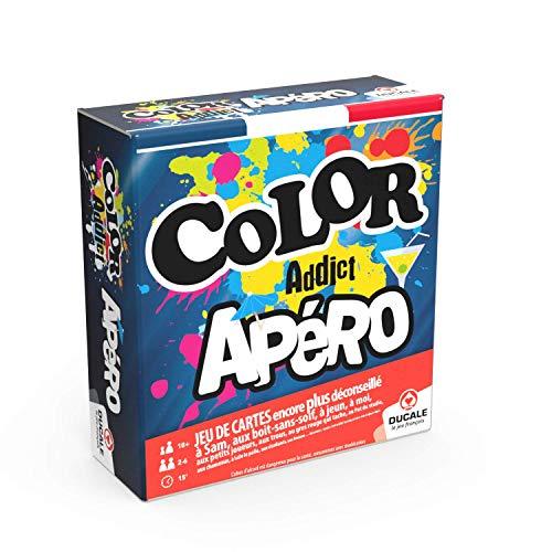 Jeu de cartes Ducale - Color Addict Apéro