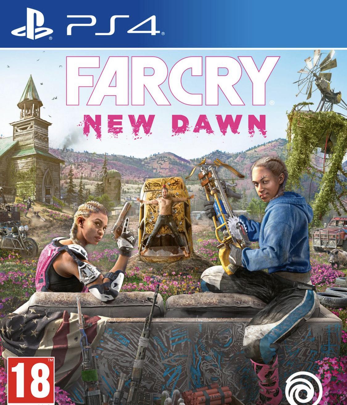 Sélection de jeux PS4 à partir de 1€ - Ex: Far Cry New Dawn