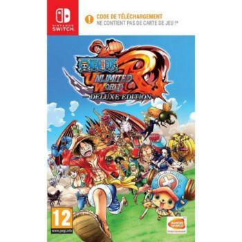 One Piece Unlimited World Red sur Switch (Code à télécharger dans la boîte)