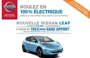 [Ikea Family] Location mensuelle Nissan Leaf en LLD