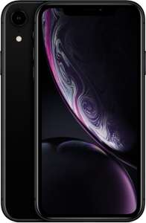 "Smartphone 6.1"" Apple iPhone Xr - full HD Retina, A12, 3 Go de RAM, 64 Go, noir (frontaliers Suisse)"