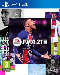 FIFA 21 Edition Standard sur PS4 ou Xbox One (Version ES)