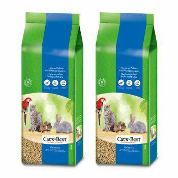 Lot de 2 sacs de Litière Cat's Best Universal - 2 x 40L