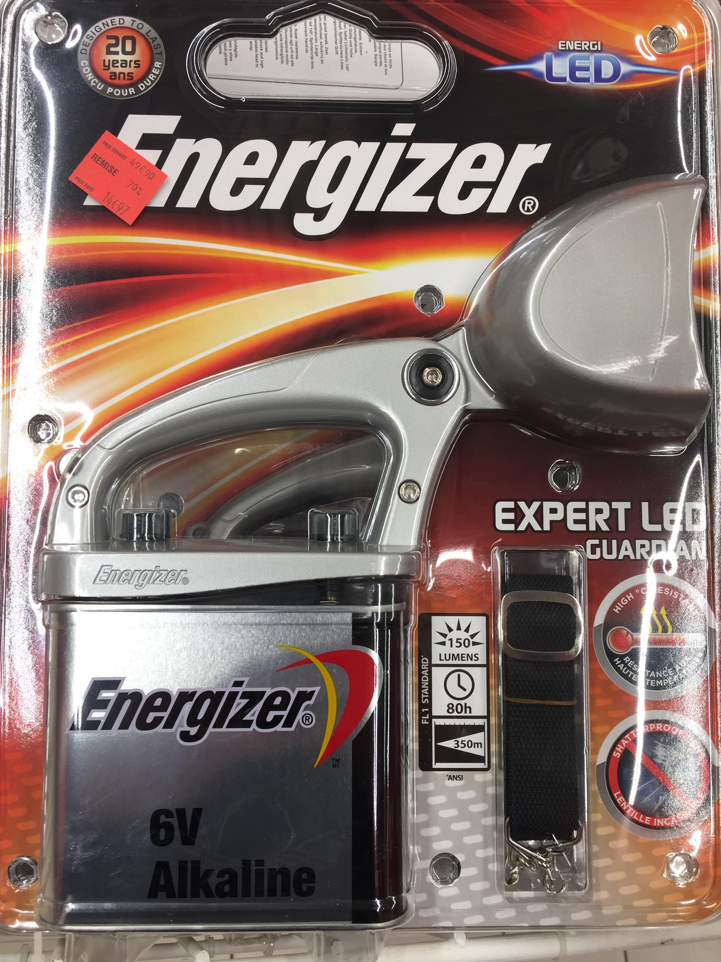 Projecteur Energizer - Sevran (93)