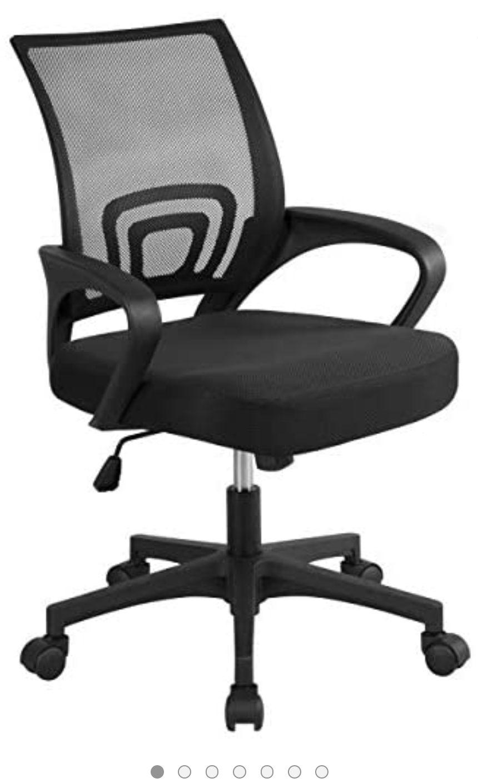 Chaise de bureau à roulettes Yaheetech (vendeur tiers)