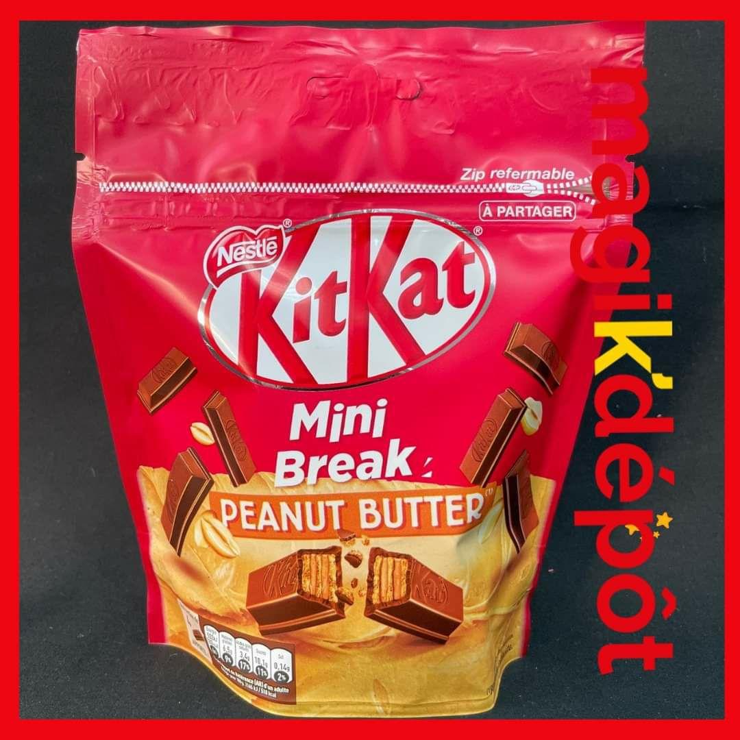 Paquet de Kit-Kat mini break au Beurre de cacahuètes - Magik Depot Lys-lez-Lannoy (59)