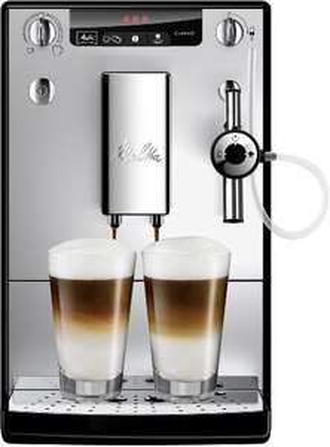 Machine à Café Automatique Melitta Caffeo Solo Perfect Milk E957-103 - Argent