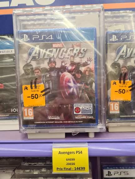 Jeu Marvel Avengers sur PS4 - Saint-Sébastien-sur-Loire (44)