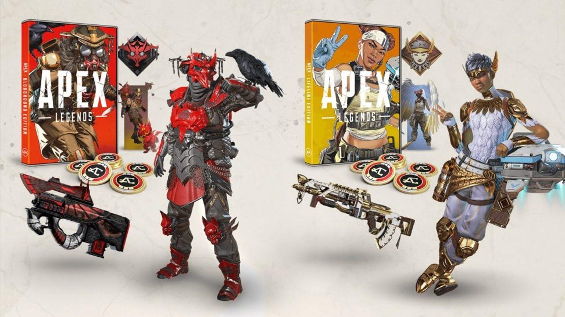 Apex Legends: Lifeline Edition (DLC) sur PS4 à 9,71€, Bloodhound Edition à 12,61€ (Dématérialisé)