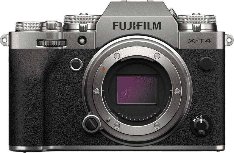 Appareil photo numérique hybride Fujifilm X-T4 - 26.1 Mpix, CMOS 4, argent, boîtier nu