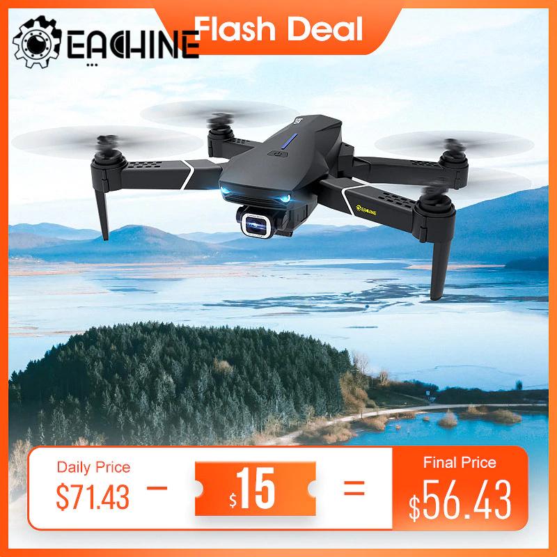 Drone quadricoptère RTF Eachine E520S GPS 5G - avec caméra 4K UHD, 3 batteries (entrepôt Espagne)