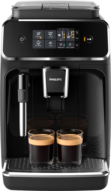 Machine à expresso automatique avec broyeur à grains Philips EP2221/40 - 15 bars