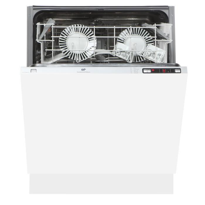 Lave-Vaisselle Continental Edison CELV1249FULL LV tout intégrable