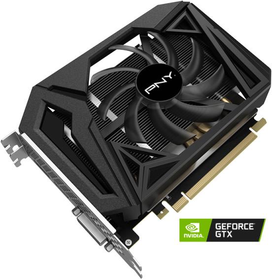 Carte graphique PNY GeForce GTX 1660 Super Single Fan - 6 Go