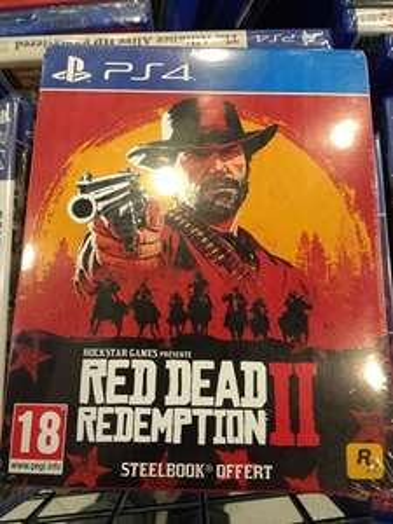 Red dead Redemption II sur PS4 (avec steelbook) - Nantes (44)