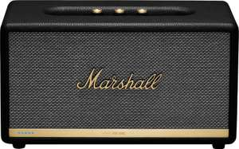 Enceinte Marshall Stanmore II Voice - avec Assistant Google, Noir