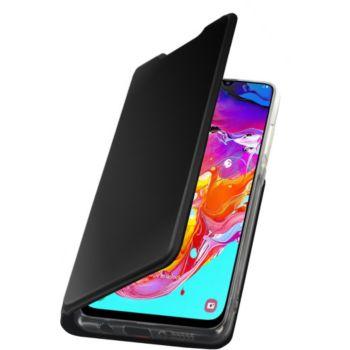 Etui folio Essentielb pour smartphone Samsung A70 - noir