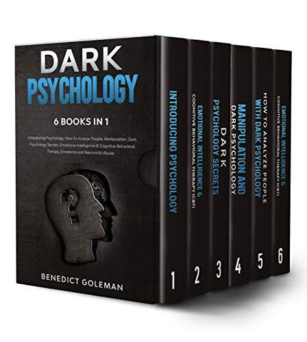 Lot de 6 e-books Dark Psychology (Dématérialisé - Kindle)