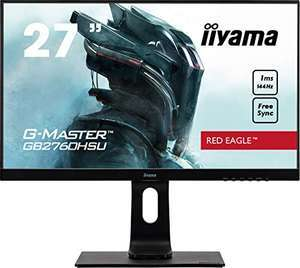 "Ecran PC 27"" IIyama G-Master GB2760HSU-B1 - Full HD, 1ms, 144 Hz"