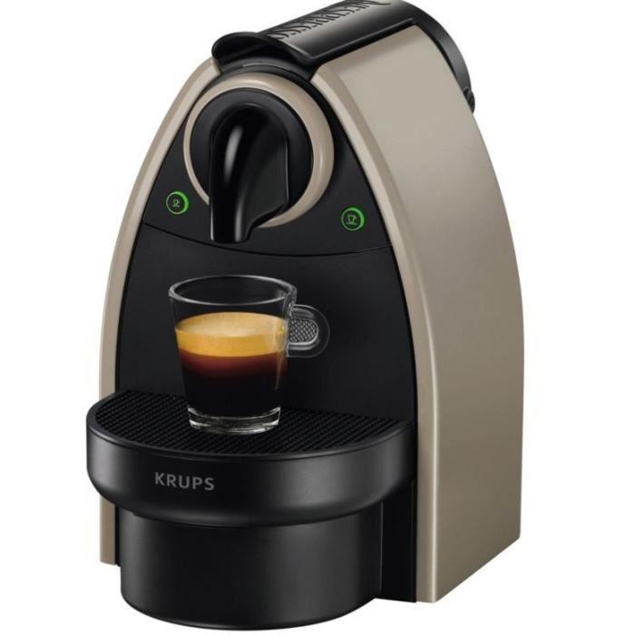 Machine Nespresso Krups YY1540FD Essenza Automatique Earth - Couleur Taupe