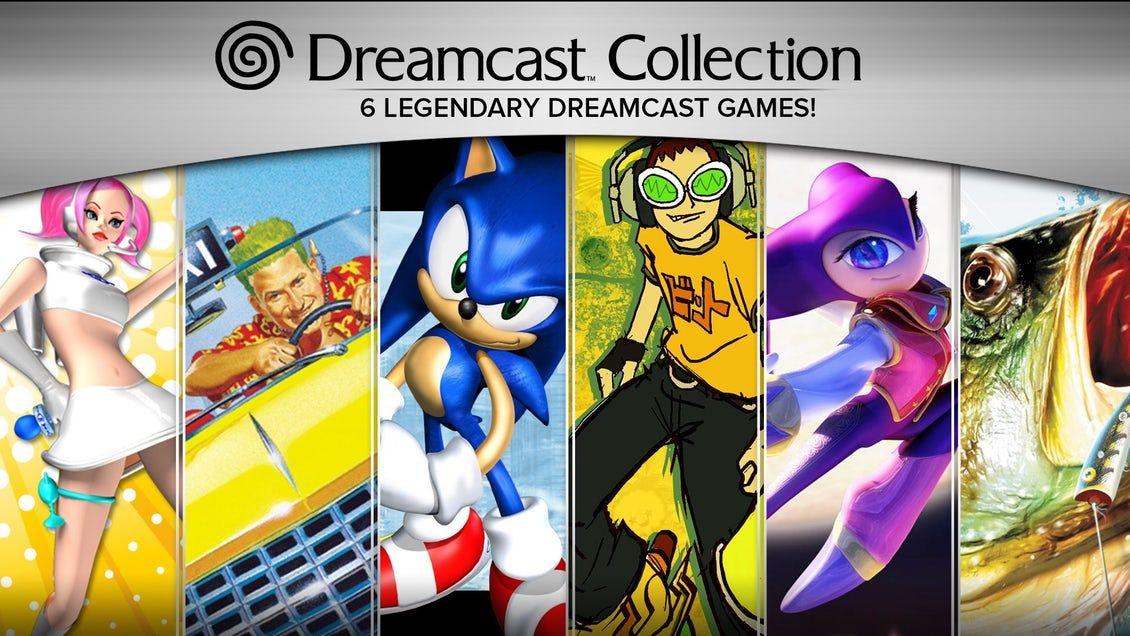 Pack de jeux Dreamcast Collection : 6 Jeux sur PC (Dématérialisés - Steam)