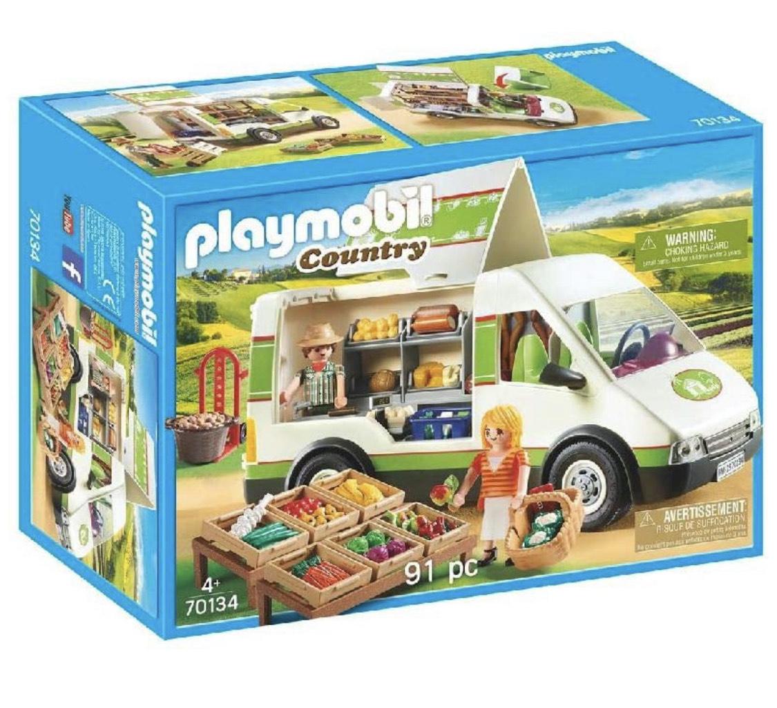 Jouet Playmobil - Camion de marché n°70134