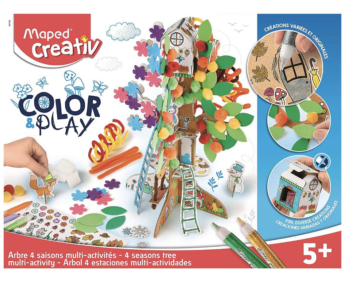 Kit créatif Maped Creative - Arbre 4 Saisons Color Party