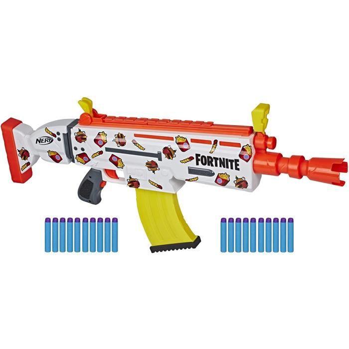 Pistolet Nerf Fortnite motorisé AR-DURR Burger