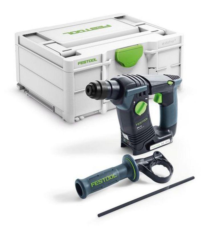 Marteau Perforateur sans fil Festool BHC 18-Basic 576511 + batterie 5.2Ah (rubart.de)