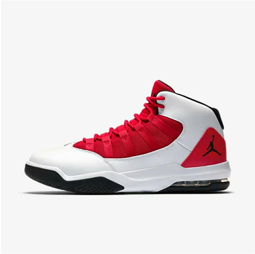 Baskets Nike Jordan Max Aura - Rouge/Blanc (Taille 42)