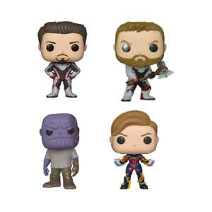 Sélection de figurines POP Avengers : Endgame en promotion - Ex : Thor, Tony Stark, Thanos ou Captain Marvel