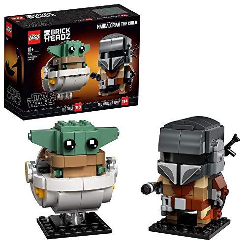 Jeu de construction Lego BrickHeadz Star Wars - Le Mandalorien et l'Enfant (75317)