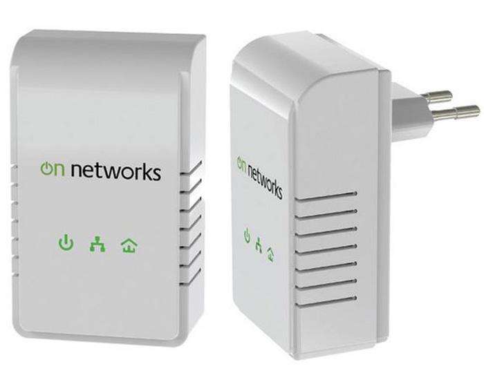 Pack de 2 prises CPL  On Networks PL200-199PES 200Mbits