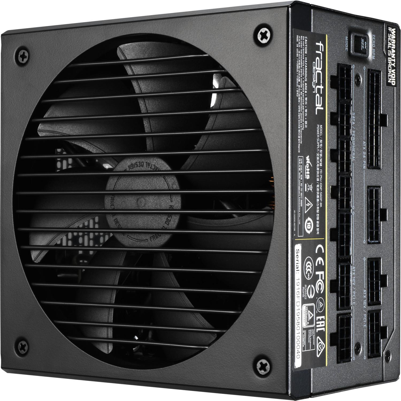 Bloc d'alimentation PC modulaire Fractal Design Ion+ Platinum - 80Plus Platinum, 560 W