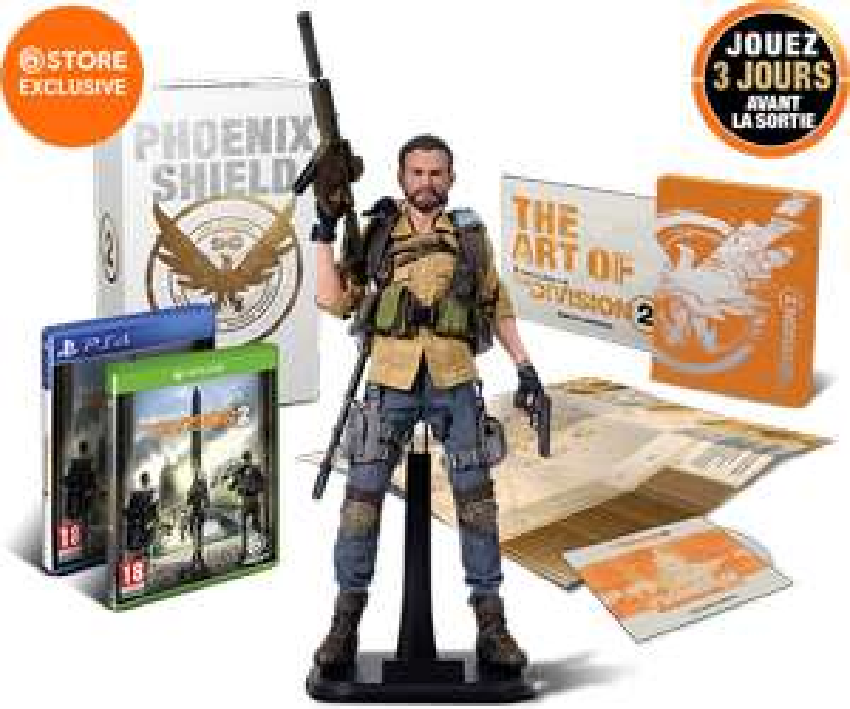 Tom Clancy's The Division 2 - Édition Collector Bouclier Phoenix sur PS4 ou Xbox One