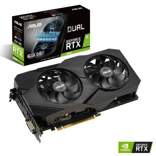 Carte graphique Asus GeForce RTX 2060 Dual Evo - 6 Go
