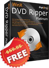 Logiciel WinX DVD Ripper Platinum gratuit (au lieu de 59.95$)