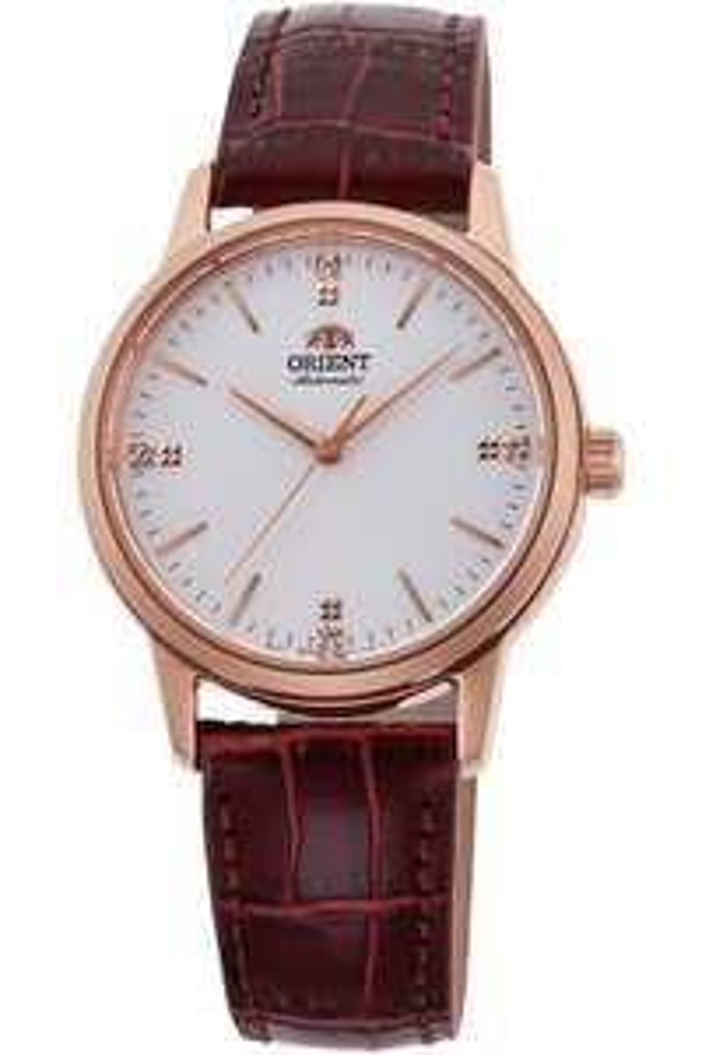 Montre automatique Orient RA-NB0105S10B - bracelet en cuir, 32 mm