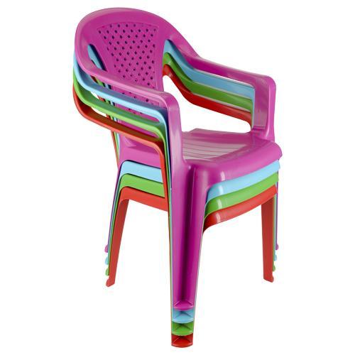 Chaise d'enfant en plastique - Plusieurs coloris