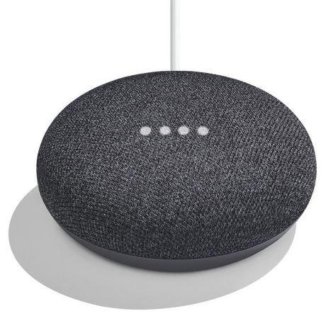 Assistant vocal Google Home mini charbon noir - Nice (06)