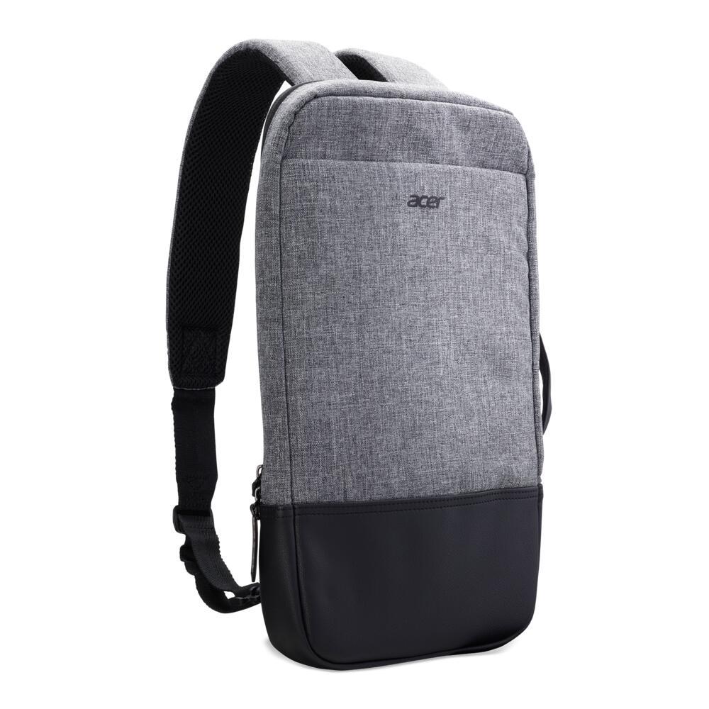"""Sac à dos compact pour pc portable Acer 14"""" Slim 3in1 Backpack - pour PC jusqu'à 14"""", gris"""