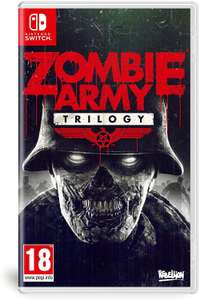 Jeu Zombie Army Trilogy sur Switch